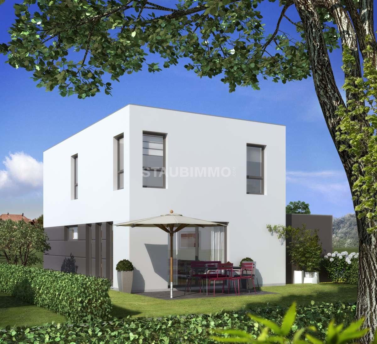 offres programmes neufs Achat Bartenheim Maison contemporaine de 125 ...